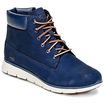 Schuhe Jungen Boots Timberland KILLINGTON 6 IN Blau