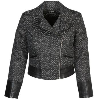 Kleidung Damen Jacken Fornarina SELINE Grau / Schwarz