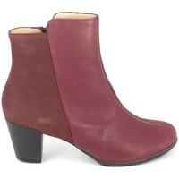 Schuhe Damen Low Boots TBS Katelyn Bordeaux Rot