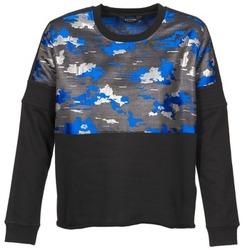 Kleidung Damen Sweatshirts Eleven Paris FORTEX Schwarz / Blau