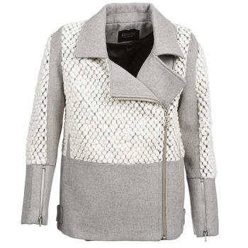 Kleidung Damen Mäntel Eleven Paris FLEITZ Grau / Beige