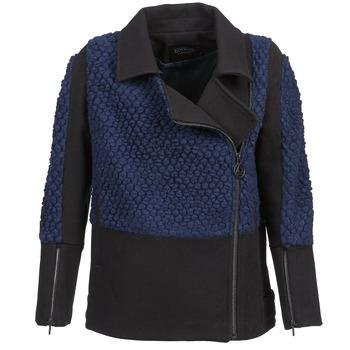 Kleidung Damen Jacken Eleven Paris FLEITZ Schwarz / Blau