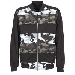 Kleidung Herren Jacken Religion CAMO Schwarz / Grau