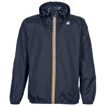 Kleidung Windjacken K-Way LE VRAI CLAUDE 3.0 Schwarz