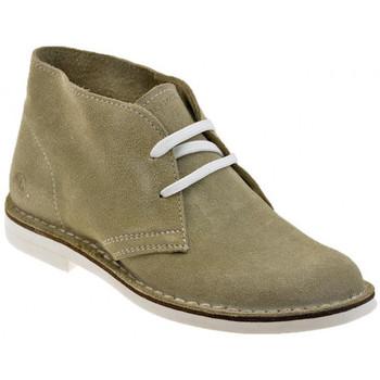Schuhe Damen Boots Lumberjack Light Lady mokassin halbschuhe Beige