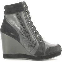 Schuhe Damen Low Boots Fornarina PIFTB8997WVD0000 Ankle boots Frauen Black Black