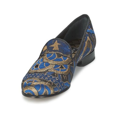 Etro 3046 Schwarz / Blau  Schuhe Slipper Damen 327,20