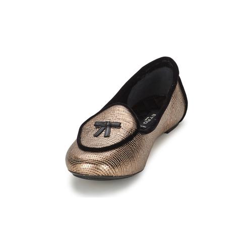 Etro 3078 Goldfarben  Schuhe Ballerinas Damen 335,20
