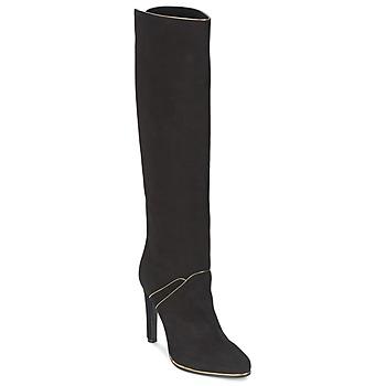 Schuhe Damen Klassische Stiefel Etro 3119 Schwarz / Goldfarben