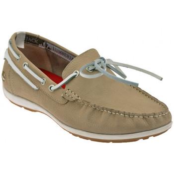 Schuhe Herren Bootsschuhe Lumberjack Step turnschuhe Beige