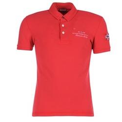 Kleidung Herren Polohemden Napapijri ELBAS Rot