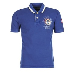 Kleidung Herren Polohemden Napapijri GANDYS Blau