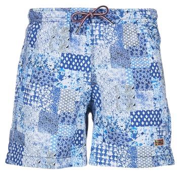 Kleidung Herren Badeanzug /Badeshorts Napapijri VAIL Blau