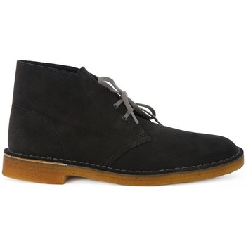 Schuhe Low Boots Clarks DESERT BOOT GREY    157,5