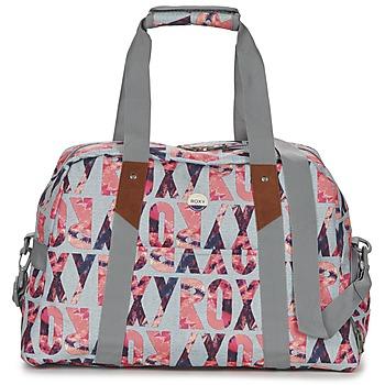Taschen Damen Sporttaschen Roxy SUGAR IT UP Grau / Rose