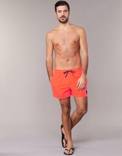 Kleidung Herren Badeanzug /Badeshorts Quiksilver EVERYDAY SOLID VOLLEY 15 Rot
