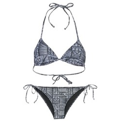 Kleidung Damen Bikini Roxy DOLTY Schwarz / Weiss