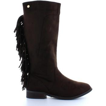 Schuhe Damen Klassische Stiefel Xti 28836 Marr?n