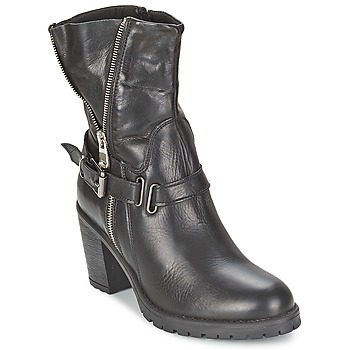 Schuhe Damen Low Boots Casual Attitude FANYE Schwarz