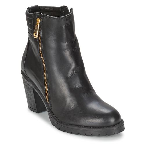 Schuhe Damen Low Boots Casual Attitude ELE Schwarz