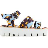 Schuhe Damen Sandalen / Sandaletten Msgm 2042MDS62 014 multicolore