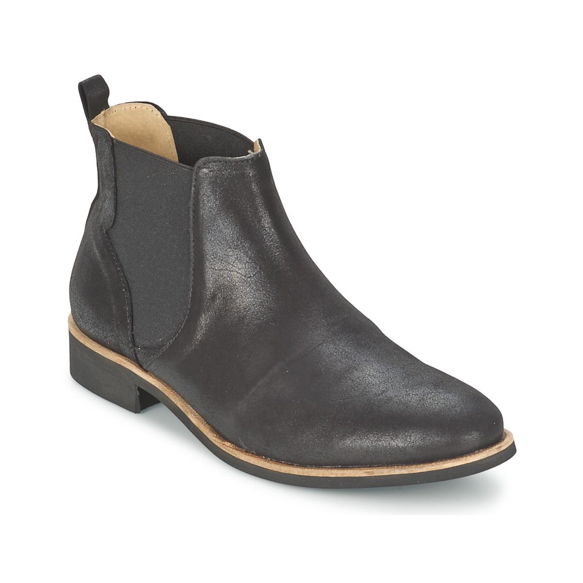 Petite Mendigote LONDRES Schwarz - Kostenloser Versand bei Spartoode ! - Schuhe Boots Damen 97,50 €