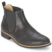 Schuhe Damen Boots Petite Mendigote LONDRES Schwarz