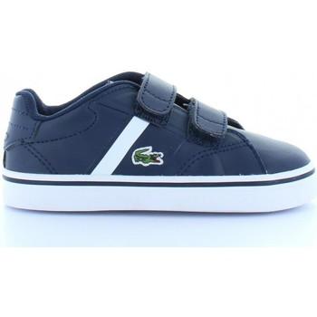 Schuhe Kinder Sneaker Low Lacoste 32SPI0110 FAIRLEAD 003 NVY Azul