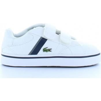 Schuhe Kinder Sneaker Low Lacoste 32SPI0110 FAIRLEAD 001 WHT Blanco