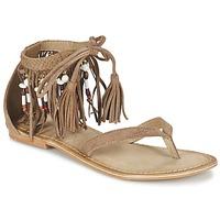 Schuhe Damen Sandalen / Sandaletten Vero Moda VMKAYA LEATHER SANDAL Cognac