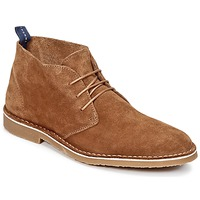 Schuhe Herren Boots Selected ROYCE NEW Camel
