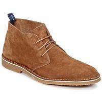 Schuhe Herren Boots Selected ROYCE NEW Camel