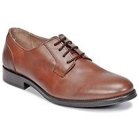 Schuhe Herren Derby-Schuhe Selected OLIVER Cognac