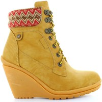 Schuhe Damen Low Boots Refresh 61500 Beige