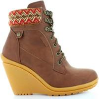 Schuhe Damen Low Boots Refresh 61500 Marr?n