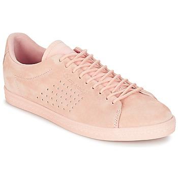 Schuhe Damen Sneaker Low Le Coq Sportif CHARLINE NUBUCK Rose