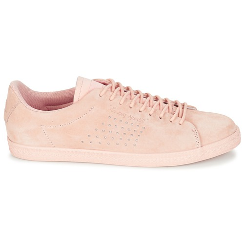 Le Coq Sportif CHARLINE NUBUCK Rose Damen  Schuhe Sneaker Low Damen Rose 59,99 ebea93