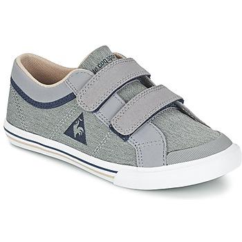 Schuhe Jungen Sneaker Low Le Coq Sportif SAINT GAETAN PS CRAFT 2 TONES Grau