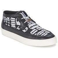 Schuhe Herren Sneaker High McQ Alexander McQueen 353659 Schwarz
