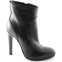 Schuhe Damen Low Boots Divine Follie DIV-420440-NE Nero