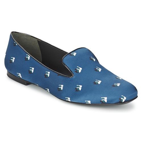 Schuhe Damen Ballerinas Kenzo 2SL110 Blau / Marine