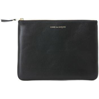 Taschen Damen Geldbeutel Comme Des Garcons Comme des Garçons Unterarmtasche aus Leder in Schwarz Schwarz