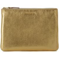 Taschen Damen Geldtasche / Handtasche Comme Des Garcons Comme des Garçons Clutch Leder Gold Gold