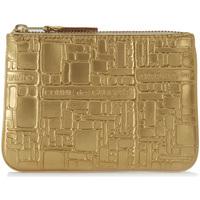 Taschen Portemonnaie Comme Des Garcons Comme des Garçons Portemonnaie geprägtes Leder Gold Gold