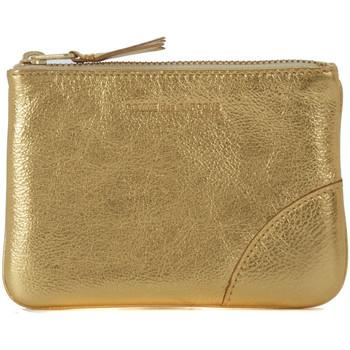 Taschen Damen Geldbeutel Comme Des Garcons Comme Des Garçons Portemonnaie Leder Gold Gold