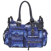 Taschen Damen Umhängetaschen Desigual LONDON MEDIUM BARBADOS Blau