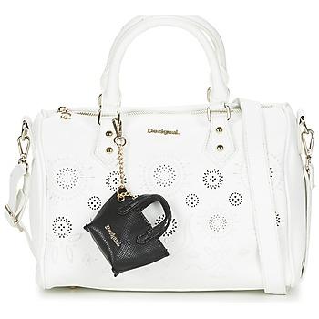 Taschen Damen Handtasche Desigual BOWLING VANESA Weiss