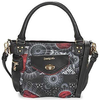 Taschen Damen Handtasche Desigual MCBEE MINI BARBADOS Schwarz / Grau / Rot