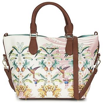 Taschen Damen Handtasche Desigual FLORIDA TROPICALICIOUS Naturfarben / Camel / Multifarben