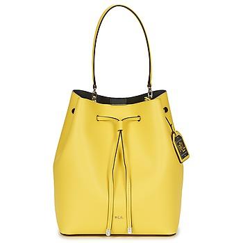 Taschen Damen Handtasche Ralph Lauren DRYDEN DEBBY DRAWSTRING Gelb